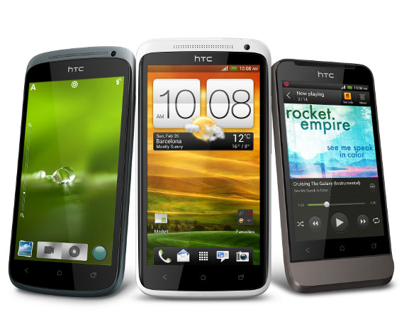 HTC One X and One S phone