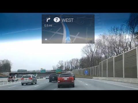 Google's GPS app is very useful.