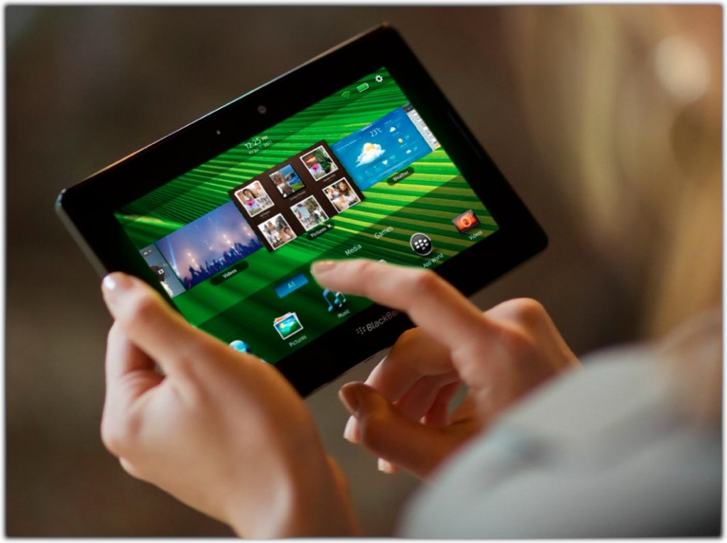 The Blackberry Playbook was introduced at CES 2011