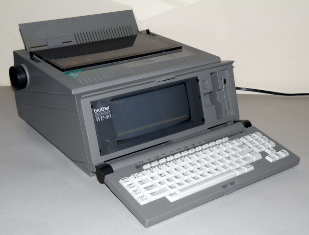 Technology Flashback Brother Wp 80 Word Processor 1992