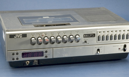 Technology flashback the vhs playerrecorder iretron blog jvc made the first commercial vhs playerrecorder publicscrutiny Choice Image