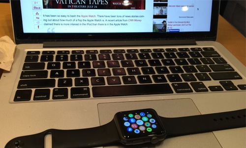 The Apple Watch is hard to live without once you use it.