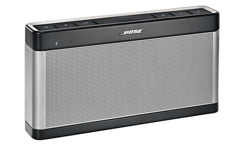 The Bose Soundlink III is known as the best portable Bluetooth wireless speaker.