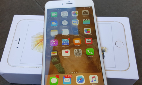 The problem with the latest iPhone is often with the software, not the hardware.