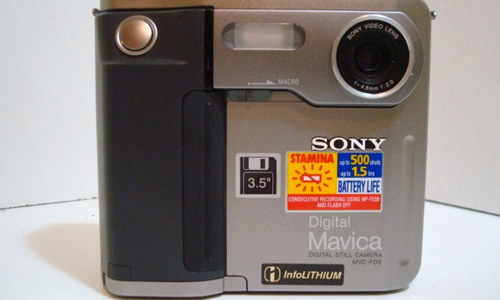 Sony's Mavica MVC-FD5 was a groundbreaking digital camera.