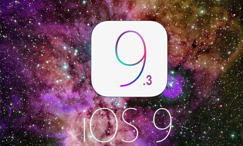 The beta version of iOS 9.3 is now available.