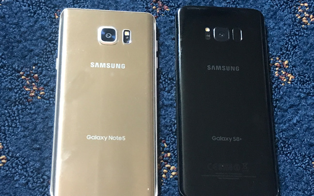 What It's Like To Go Back To Samsung Galaxy Note 5 After Using