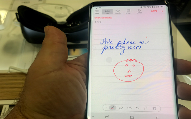 The Note 8 is the most versatile device on the market.