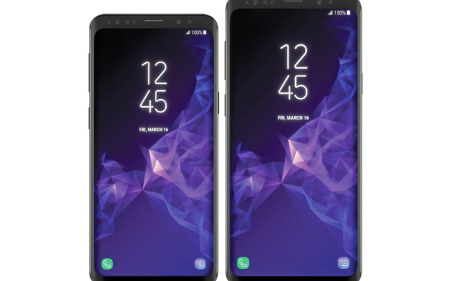 The Galaxy S9 series looks very similar to Galaxy S8.