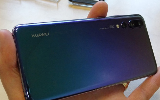 Huawei is the first smartphone company to release a phone with a triple-lens camera.