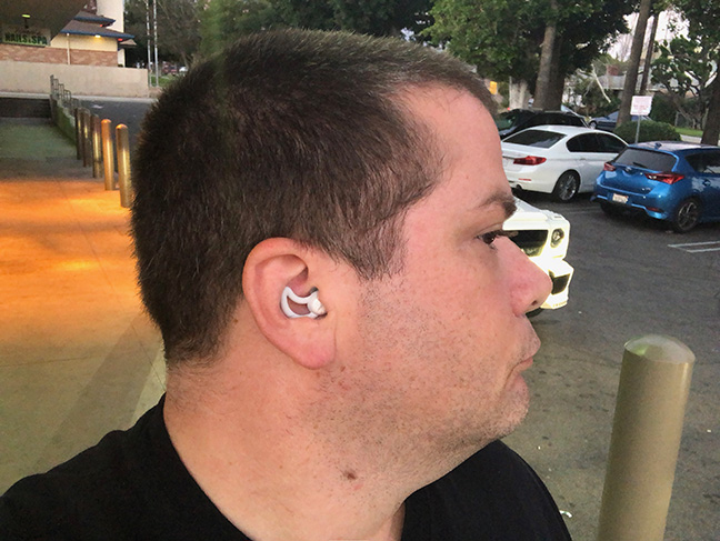 Bose's Sleepbuds fit very comfortably into the ear canal.