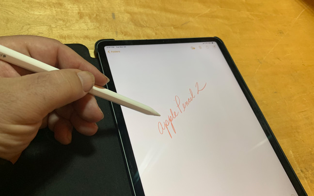 The Apple Pencil 2 is the ultimate digital writing device.