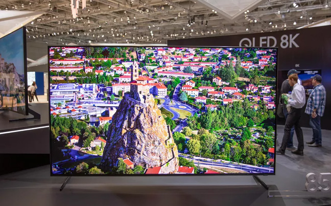 8k OLED displays will be shown at CES 2019.