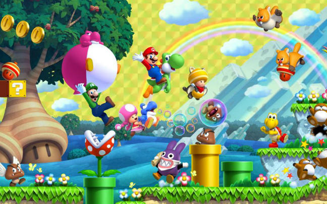 Super Mario makes his way back to the Nintendo Switch.