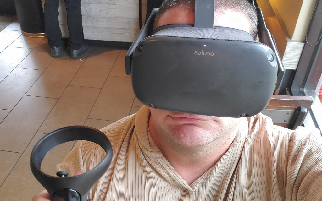 The Oculus Quest VR headset was originally released in May of 2019.