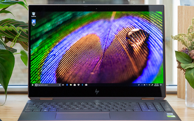 The HP Spectre x360 (15 inch, OLED) is available right now.
