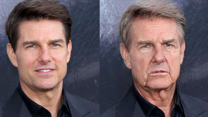 "Tom Cruise ""Before and After"""
