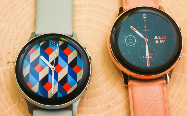 The Galaxy Watch Active 2 comes in two different sizes.