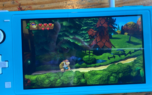 Donkey Kong Country: Tropical Freeze looks gorgeous.