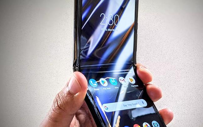 Motorola's new foldable Razr will be available on February 6.