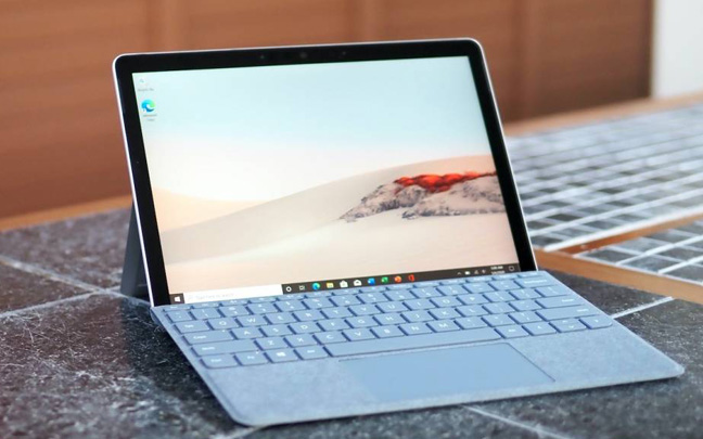 The new Surface Go 2 has a slightly larger screen than original 2018 version.