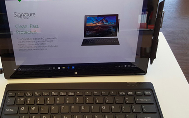 Microsoft VAIO Z Canvas (On Display at Microsoft Store in 2015)
