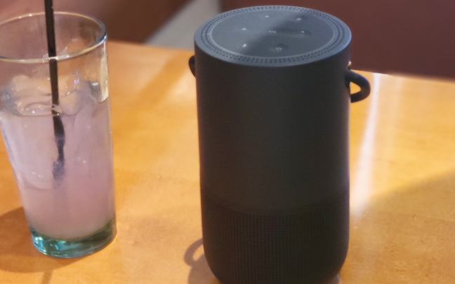 The Bose Portable Home Speaker looks and feels solid.