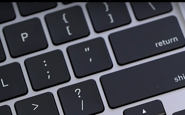 The MacBook Pro 16 has the best keyboard.
