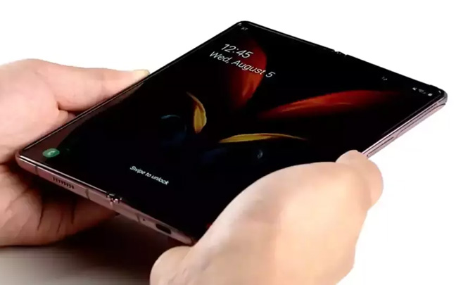 The Galaxy Z Fold 2 has small bezels.