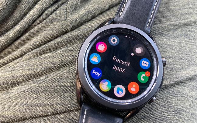 The Watch3 has a crisp display.