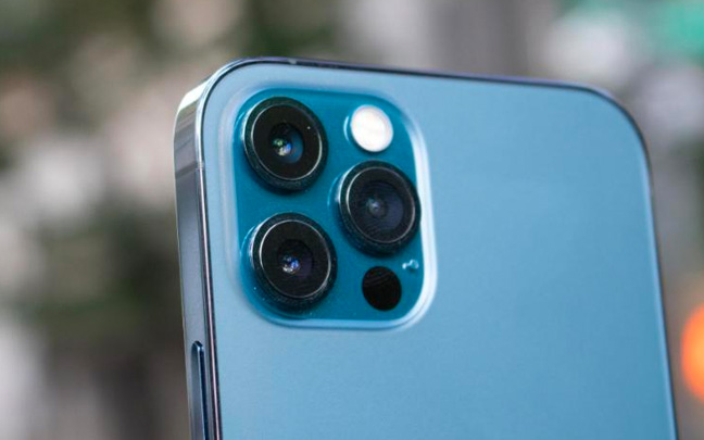 The iPhone 12 Pro's camera is almost identical to that of the iPhone 11 Pro Max.