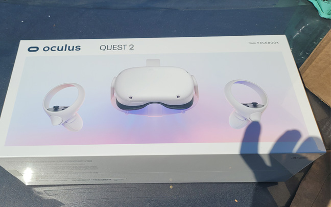 The Oculus Quest 2 is now available.
