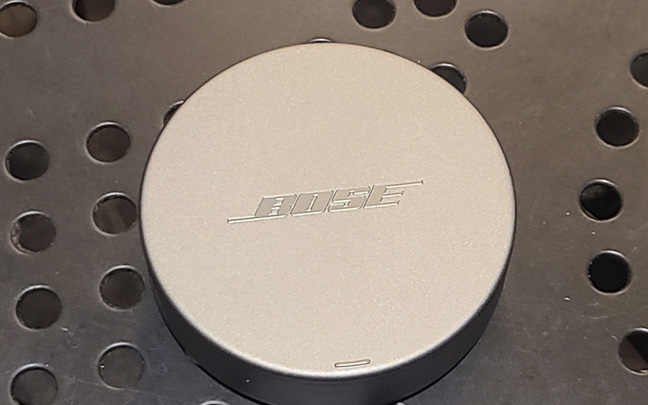 Bose's new buds come with a small charging case.