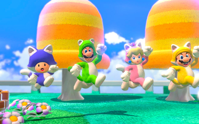 You may soon be playing 4K Mario games.