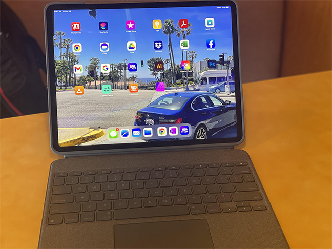 The iPad Pro 12.9 *looks* like the perfect laptop replacement.