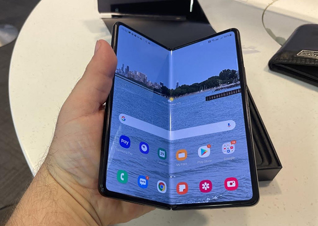 Samsung's Galaxy Z Fold 3 Is now available.