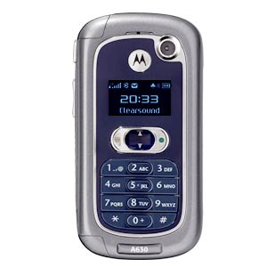 sell used Motorola A630
