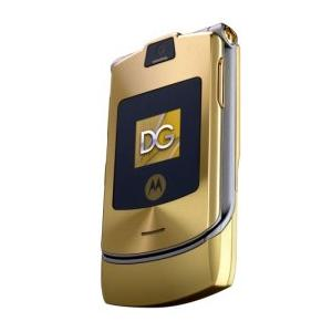 sell used Motorola RAZR V3i D&G Edition