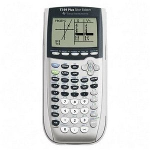 sell used Texas Instruments TI-84 Plus Silver Edition Graphic Calculator